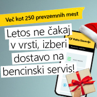 Pošta Paketomat 2021 - BS